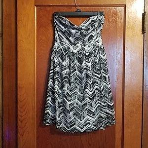 Strapless Vanity Dress